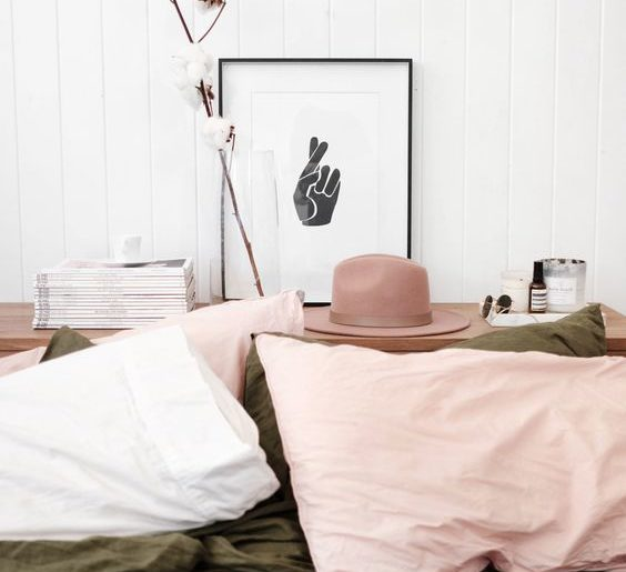 How to subtly add pink to your home