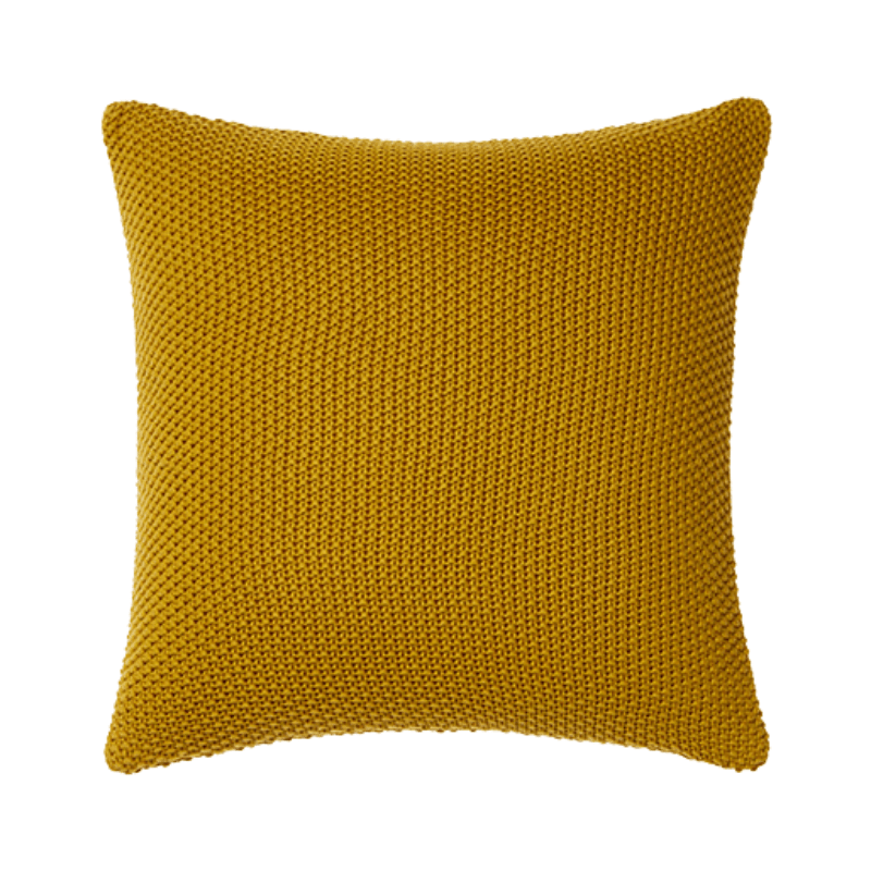 Montroe Knit Cushion Safron The Style Index