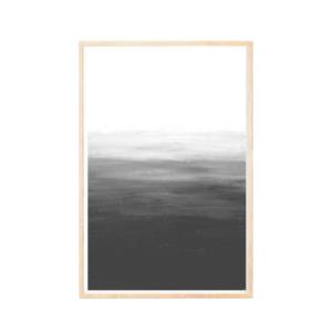 black and white minimal art