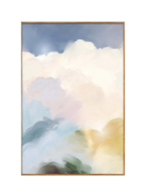 art that looks like colourful clouds