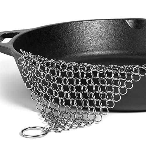Metal pot cleaner kitchen pan