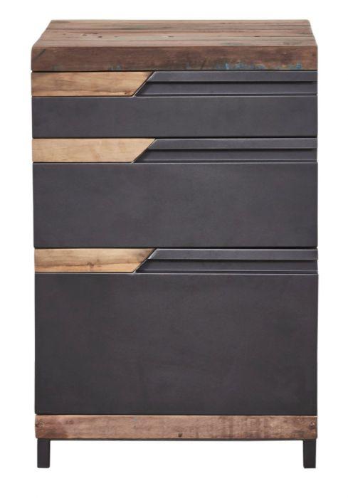 office storage wood and metal