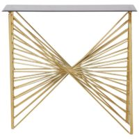 Flame Console Table
