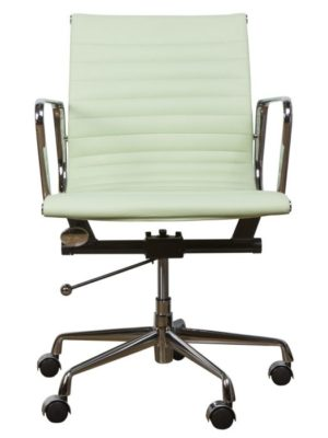Green chair inspiring office chair