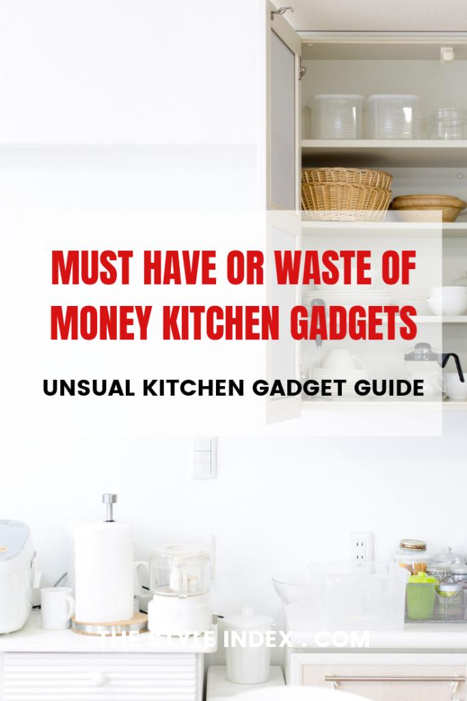 Kitchen guide untensils
