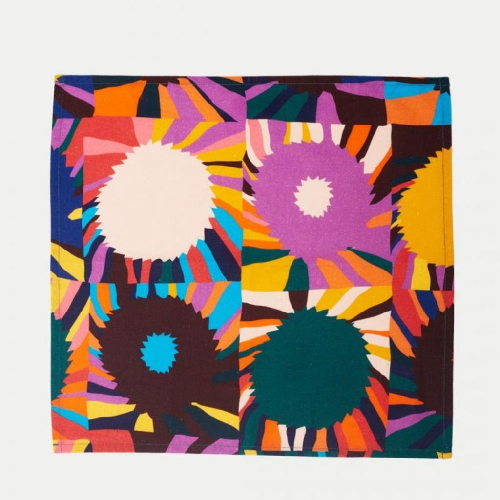 Napkin colourful tea towel