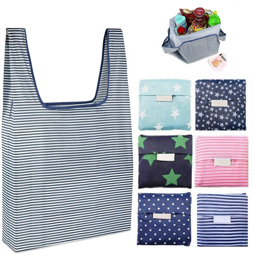 Folding Reusable Grocery Bag