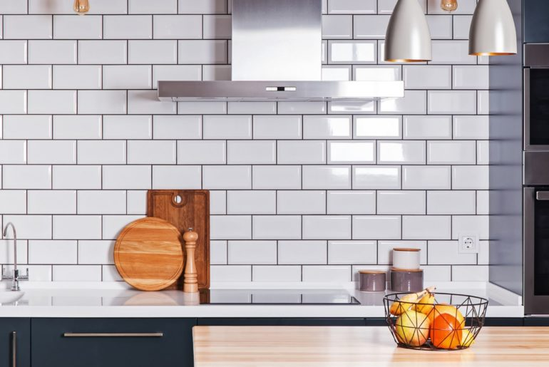 Showroom kitchen on a budget