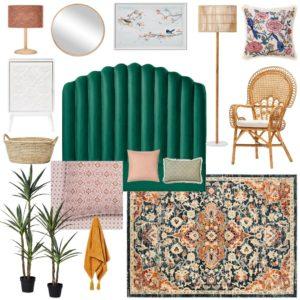 The Eclectic Luxe Bedroom