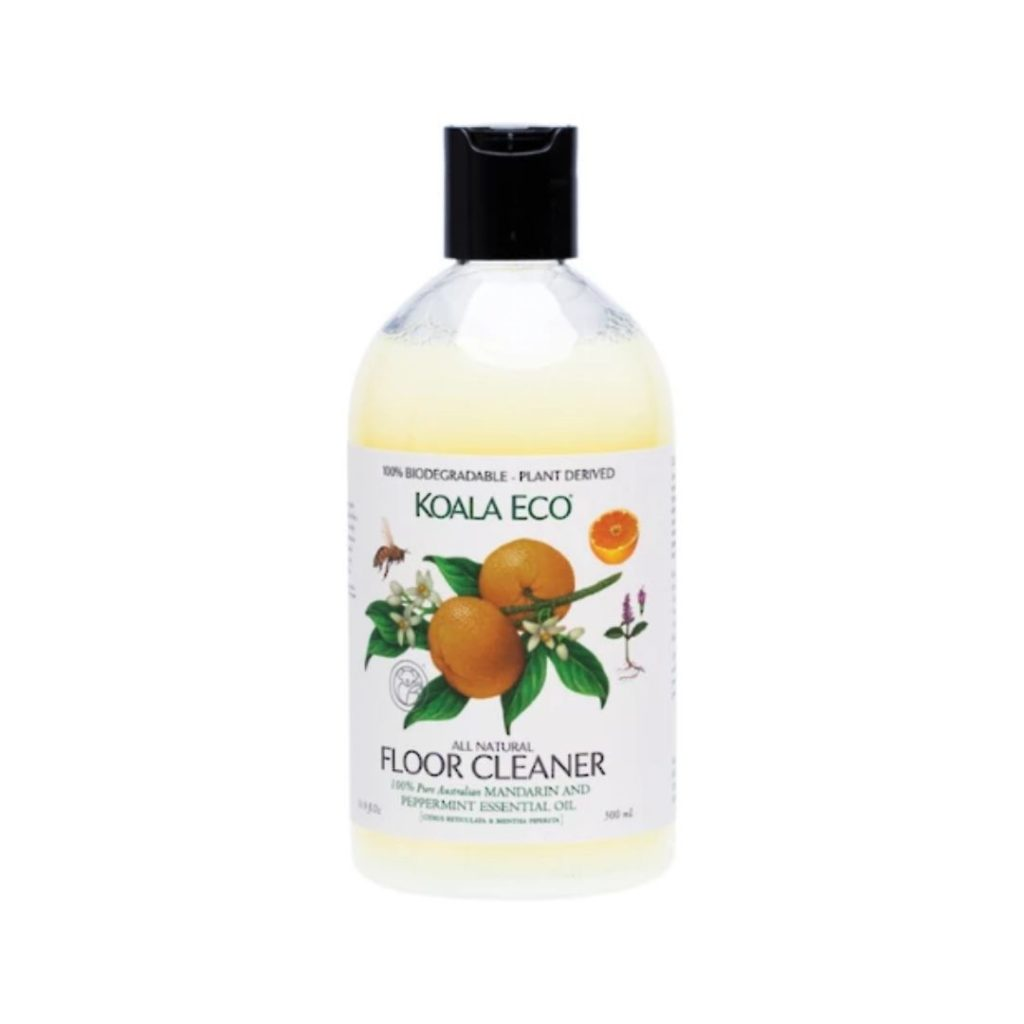 organic cleaning product orange floor cleaner