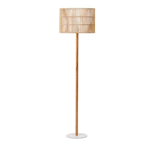 ratta bamboo lamp