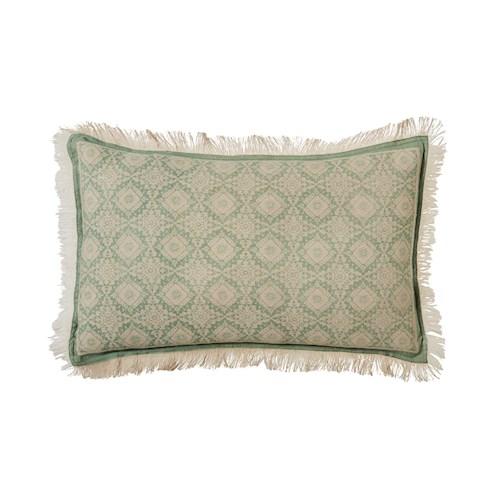 forest green cushion