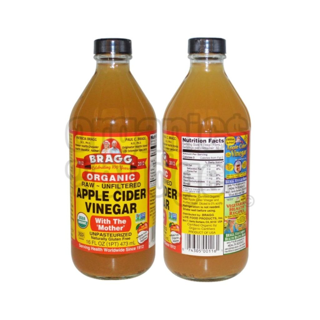 organic cleaning product apple cider