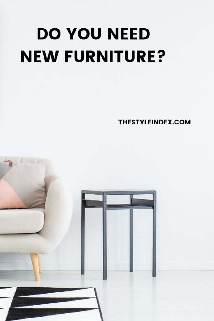 update your furniture