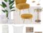 relaxing corner mood board