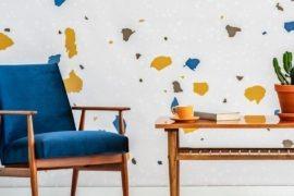 Terrazzo wall home wears