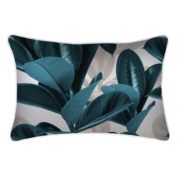 green cushion outdoor