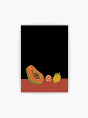 Tropical Fruit free wall art