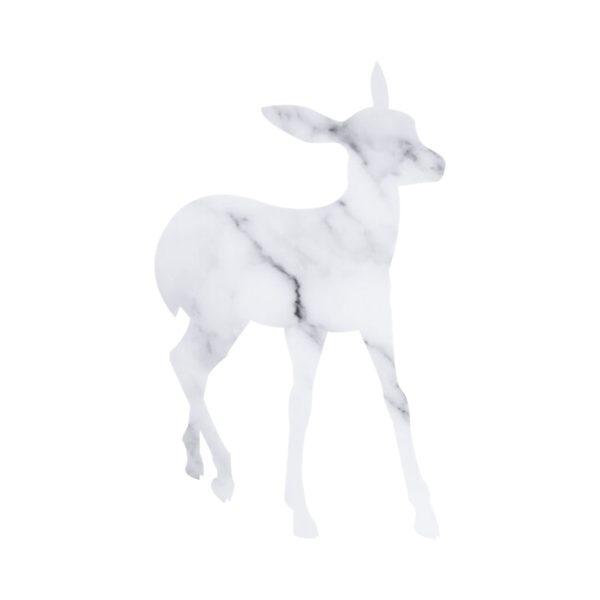 Marble Deer free clipart