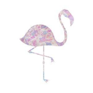 Crystal Pink Flamingo