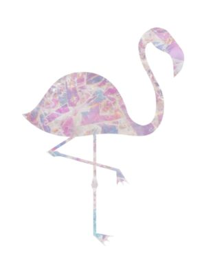 Crystal Pink Flamingo
