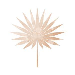 watercolour palm leaf free clipart