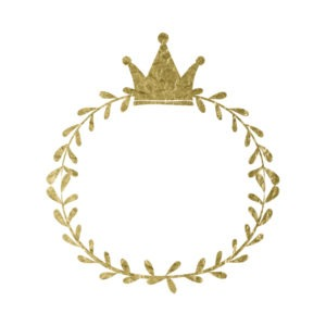 Gold Crown Frame