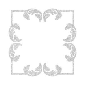 Silver Foil Frame free clipart
