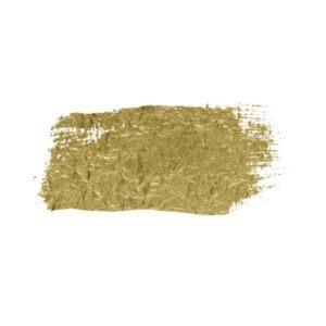 Gold Paint Brush Stroke Paint