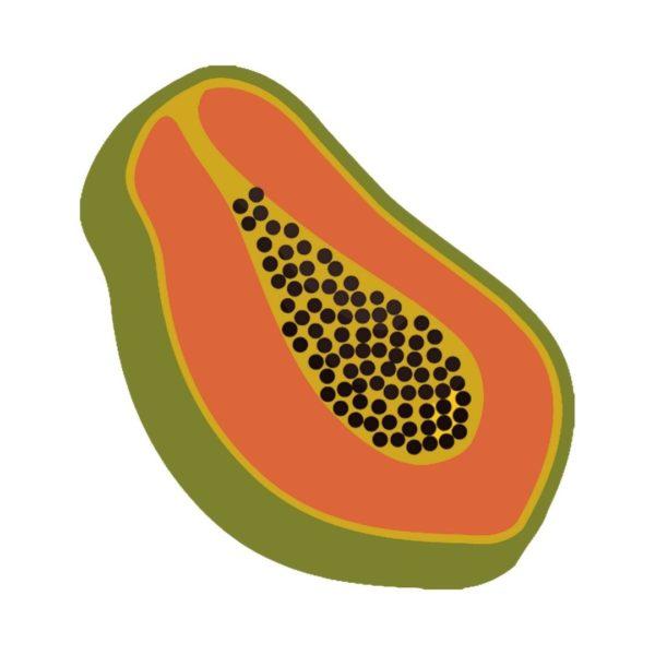 Papaya free clipart