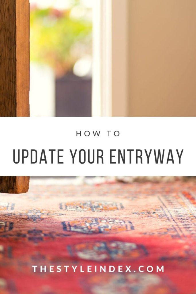 update your entryway