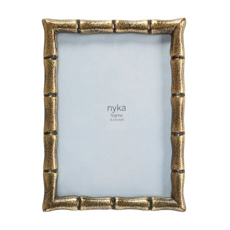NYKA Frame Antique Gold Colour,