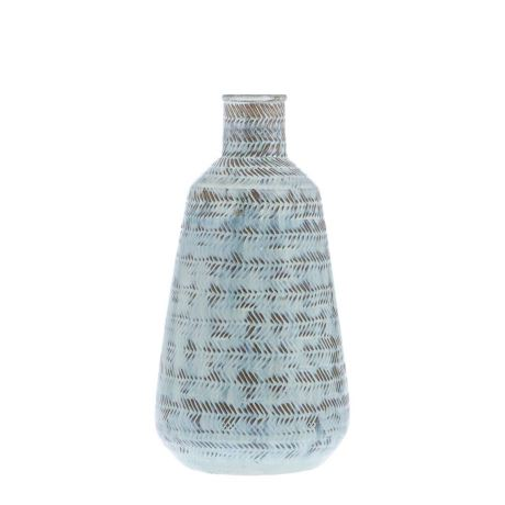SARRION 27cm Vessel, Washed Blue