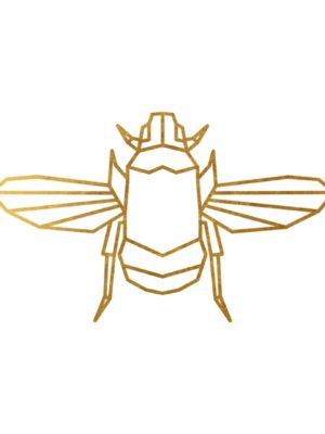 Gold Foil Bee