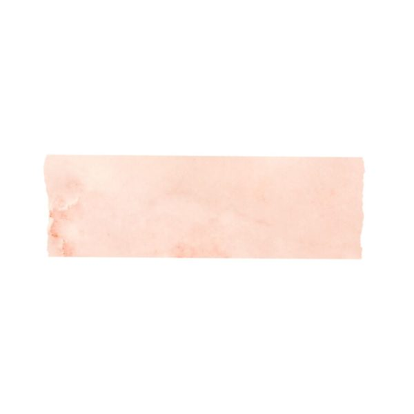 Pink Watercolour Washi Tape