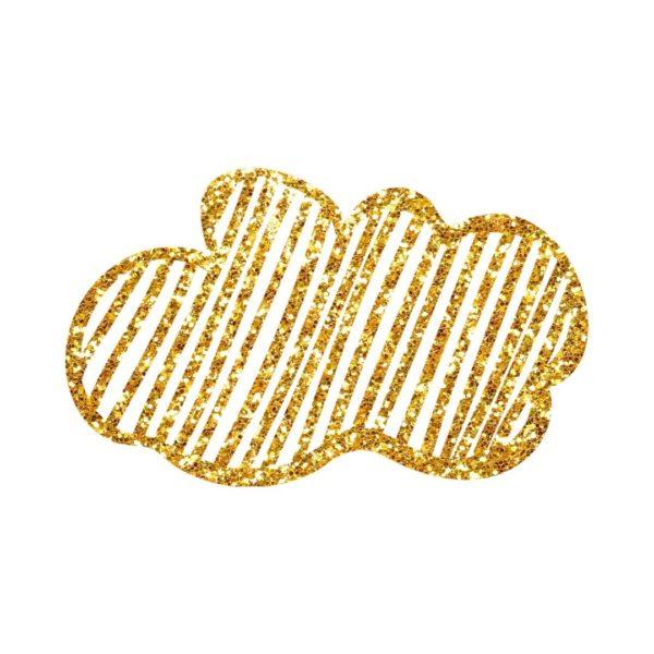 Glitter Cloud Doodle