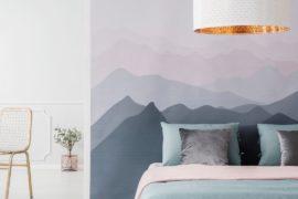 Create a pastel interior
