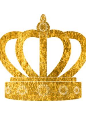 Gold Foil Crown