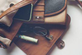 clever handbag storage