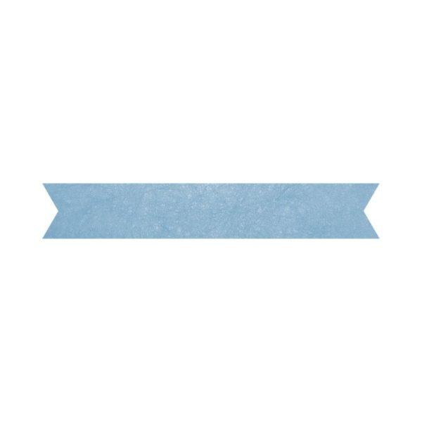 Blue Foil Banner