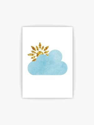 Blue Clouds and Sunshine