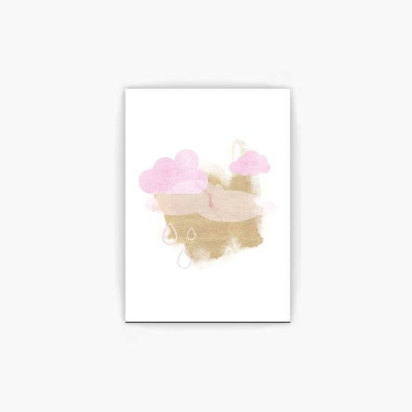 Pink Clouds free wall art