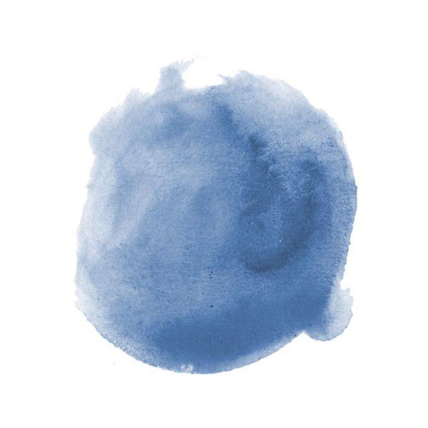 Blue Watercolour Spot