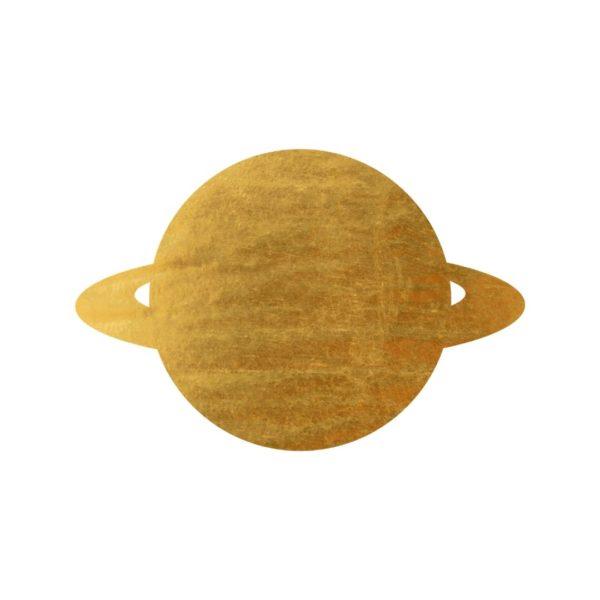 Gold Foil Planet