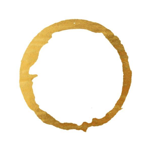 Gold Foil Paint Ring
