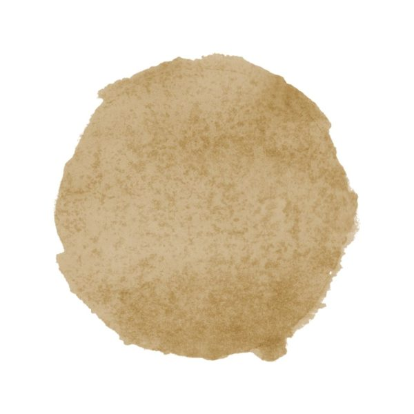 Brown Watercolor Paint Spot