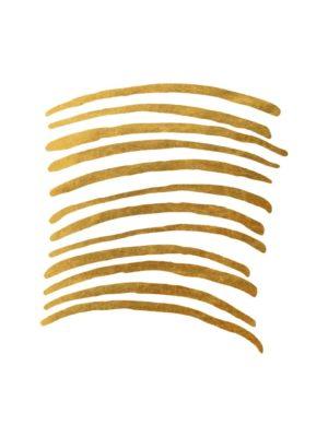 Retro Gold Foil Line