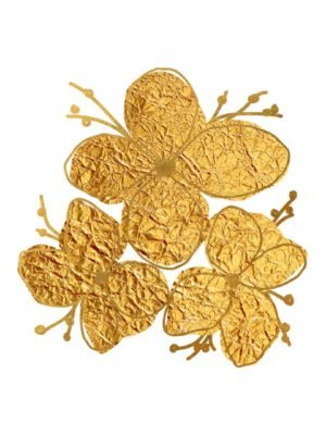 free clipart Gold Foil Flower