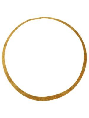 Gold Foil Circle