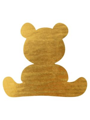 Gold Foil Teddy